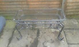 glass table £20 glass table £20 glass table £20 cash sale collection only