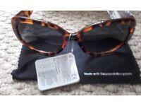 New Ladies Sunglasses With Case