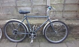 "Raleigh rocky II 1987 mountain bike all original - 2 TANGE 5 pg CroMo / 26"" wheel tourer"