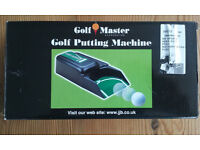 Golf Putting Machine made by Golf Master