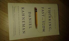 Thinking, fast and slow, Daniel Kahneman