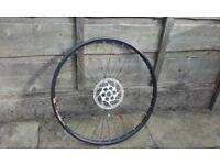 "front mountain bike wheel 26"" mavic xc 317 deore disk disc only"