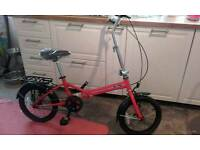 Brand new Ford folding bike