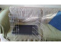 Metal dog crate small/medium