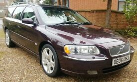 2005 VOLVO V70 2.4 D5 SE DIESEL AUTO. 155000 WITH FULL MAIN DEALER SERVICE HISTORY