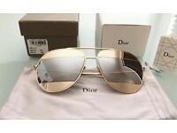 Dior split Aviator , women's sunglasses