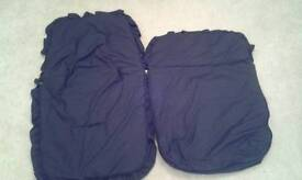BUGGY FOOTMUFF/LINER SOUTHEND OR LAINDON NAVY
