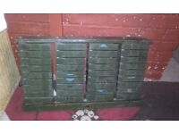 vintage tool box full working order good condition