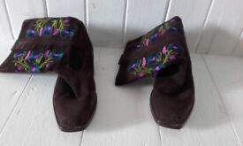 cowboy boots Brora size 38