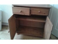 Genuine pine cupboard.