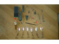 Old and new fishing gear / tackle. Possibly collectable. 3 Lots - £6
