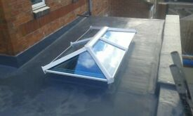 Sky pod roof lantern blue active self cleaning glass 4 section