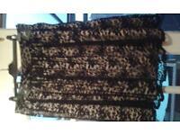 women's black lace skirt