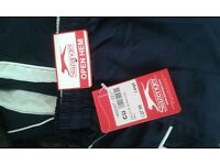 BRAND NEW WITH TAGS SLAZENGER TRACKY BOTTOMS