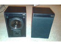 Pair of JPW Gold Speakers (Black)
