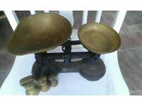 Labrasco weighing scales & Brass weights