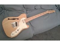 Farida 32N Thinline Tele style guitar