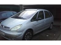 Diesel Xsara Picasso - good engine/gearbox/ inside of vehicle but scruffy outside!