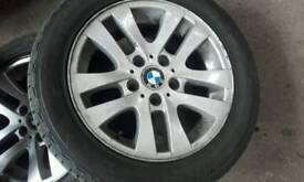 "Bmw 1 or 3 series 16"" alloy wheels"