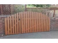 Garden gates excellent condition