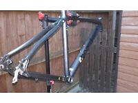 Boardman team hybrid bike frame