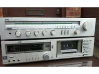 Jvc amplifier receiver and cassette deck