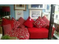 New ex showroom dfs corner sofa delivery free