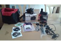 Canon 1000D DSLR & Extras