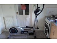 v fit cross trainer mains powered,good solid machine