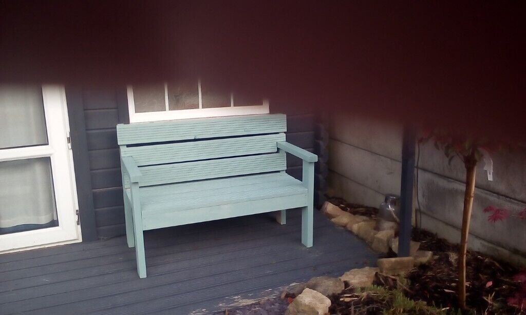 Superb Garden Bench Decking Style In Sea Grass Colour Also Available Bare Wood To Colour Your Self In Heanor Derbyshire Gumtree Ibusinesslaw Wood Chair Design Ideas Ibusinesslaworg