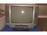 Schneider Vintage 14 Inch Portable Television, TV