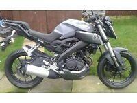 YAMAHA MT 125 ABS 16 PLATE BARGIN PRICE THE BEST LOOKING 125 STREETFIGHTER
