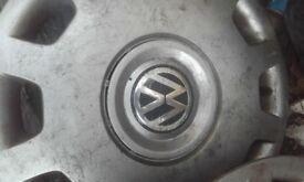 """genuine Volkswagen 16"""" wheel trims"""