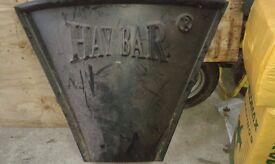 Hay Bar, large, black