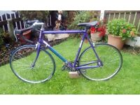 RETRO CLAUD BUTLER RACING ROAD BIKE/RACER...CAMPAGNOLO - LARGE 65cm FRAME - VERY LIGHTWEIGHT