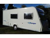 Bailey Ranger 510/4 Model 2007 series 5 Excellent condition With Full Awning