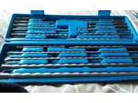 20 pce SDS Masonary drill bit set