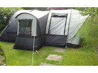 Sunncamp Platinum Family 400 4 Berth Tunnel Tent