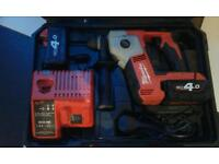 Milwaukee 18v sds lithium drill