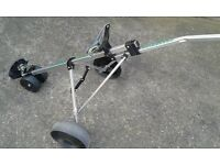Greenhill 3 Wheeled Push Pull Golf Trolley. Nice Condition.