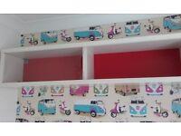 Wall unit ( kids above bed / storage unit