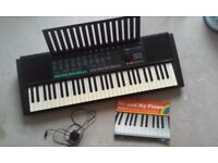yamaha psr 150 electronic keyboard and piano book