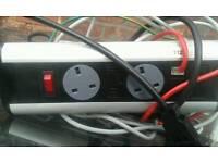 Power surge plug sockets