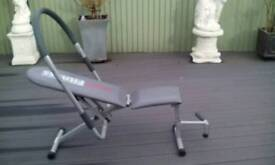 Sit up and work out machine