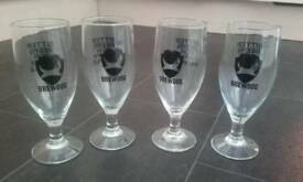 Brewdog half pint glasses