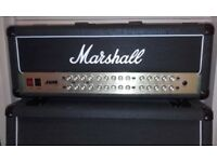 Marshall JVM410H + footswitch + Marshall 4x12