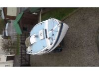 Westerly 22 including road/launcing trailer and 8hp. Johnston saildrive outboard, 4 full berths