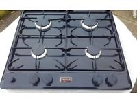 Stoves 4 Plate Gas Hob in Navy Blue