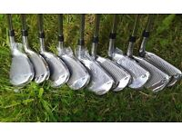 A Brand New Set Of Left Handed Integra Golf Irons (9) 3-SW.