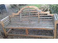 Beautiful Teak garden bench